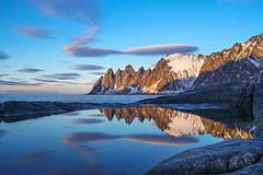 Mirror by Anja Kallenbach (kroko2112) Tags: 2018 norwegen ocean reflection sea senja tungeneset