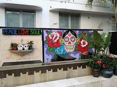 South Beach | Peace Love Soul (Toni Kaarttinen) Tags: usa unitedstates florida wpb america miami miamidade southbeach artdeco architecture peace love soul skull