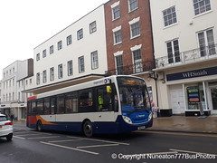 CN13AYX 36844 Stagecoach Midlands (Warwickshire) in Leamington Spa (Nuneaton777 Bus Photos) Tags: stagecoach midlands adl enviro 200 cn13ayx 36844 leamingtonspa