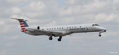 Embraer ERJ-145 (N677AE) American Eagle (Mountvic Holsteins) Tags: embraer erj145 n677ae american eagle mia miami international airport florida aviation