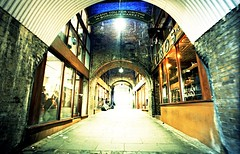 Borough Market (Myahcat) Tags: 35mm film xpro crossprocess lcw lcwide lomo lomography london arch boroughmarket lowlight