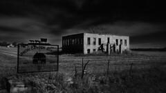 Old School (Tim @ Photovisions) Tags: kodak monochrome nebraska easyshare blackandwhite school abandoned gagecounty unioncenterschool