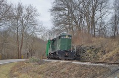 ys167 (Fan-T) Tags: ys 18 8343 mill rock ohio shortline youngstown southern gp18 gp10