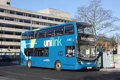 Bluestar 1231 HF18 FFS (johnmorris13) Tags: bluestar unilink 1231 hf18ffs alexanderdennis enviro400 enviro400mmc bus