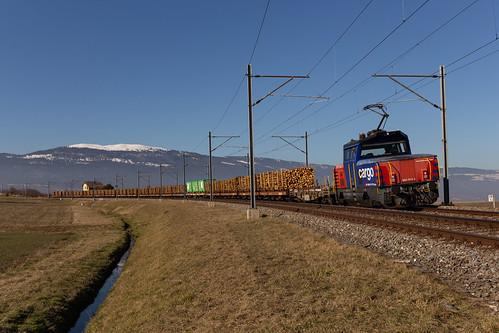 CFF Cargo Eem 923 011 à Arnex