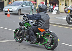Bandit Bike.. (Harleynik Rides Again.) Tags: suzuki chopper hardtail biker motorcycle harleynikridesagain