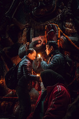 Kaal Bhairav (danielhibell) Tags: kathmandu nepal travel asia discover explore world street streetphotography people religion culture ambience mood buddhism hinduism colour light praying moving special