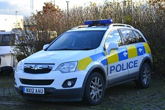 NX12 AAU (S11 AUN) Tags: cleveland police vauxhall antara rural patrol vehicle irv incident response 999 emergency nx12aau
