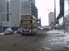 One year ago in this snow (Public Transport Photos) Tags: dublin bus snow ireland volvo alx400 route 15b b7tl ax482