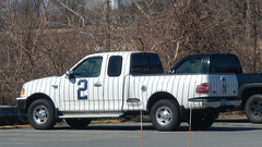 # 2 (blazer8696) Tags: 2 2019 baldwinplace ecw f150 ford mahopac nc newyork t2019 usa unitedstates yankee art car pickup pinstripe truck dscn4462 rteus006 rteny118
