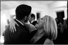 LisaJason10.13.18_432 (Johnny Martyr) Tags: nikon nikkor ilford ilforddelta3200 6400iso pushprocess pushprocessing availablelight nikonfm2n nikkor50mm18ai kodakhc110 kodakhc110b dance dancing laugh laughin laughing happy excited happiness excitement drunk drinking reception party wedding weddingphotojournalistmaryland weddingphotographerfrederickmd weddingphotographer weddingphotographyfilm blackandwhitefilm blackandwhite bw grain grainy girl woman she her beautiful moment gorgeous lowlight shallowdepthoffield shallowdof contrast dress lips teeth form portrait candid photojournalism documentary maryland