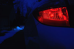 Night Rider (060/365) (robjvale) Tags: 365the2019edition 3652019 day60365 01mar19 project365 nikon d3200 werehere wah hereios night car taillight