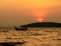 Sunset on Ao Nang beach (William Matthews Photography) Tags: sunset aonang olympusomdem1markii olympus1240mmf28pro olympusmzuikodigitaled1240mmf28pro olympusuk