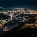 皿倉山:北九州夜景