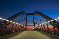 Brücke (Martin Stelter) Tags: hdr fotografie motiv beleuchtung brücken metall chemnitz sachsen deutschland de