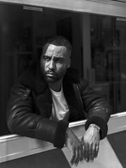The_Ramsey (dewestelincksmith) Tags: 4x5 analog antwerpen barber blackandwhite blackandwhitephotography film filmisnotdead intrepid kodak largeformat portrait portraitphotography sheetfilm