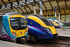 185129 1K24 180110 1H03 43010 1A95 802202 Hull (British Rail 1980s and 1990s) Tags: set er first agility emu passenger ht hitachi tpe transpennine intercityexpress 802 iep iet hulltrains electricmultipleunit unbranded nova1 transpennineexpress easternregion superexpresstrain class802 802202 station train yorkshire traction rail railway livery mainline liveried br 180 alstom britishrail firstgreatwestern intercity 43 hst gwr dmu greatwesternrailway highspeedtrain class180 dieselmultipleunit class43 intercity125 ic125 fgw powercar 180110 1a95 1h03 siemens 185 desiro class185 185129 railroad