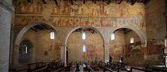 560201903bALMENNOSBARTOLOMEO00176 (GIALLO1963) Tags: ngc romanic almennosanbartolomeo sangiorgioinlemine affreschi fresco europe italy lombardy church churches paints art culture architecture medioeval