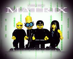 LEGO The Matrix (weeLEGOman) Tags: lego movies movie film the matrix minifigure minifigures toy toys macro nikon d7100 105mm uk robert rob trevissmith