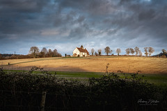The Pilgrimage (Andrew J Hulson) Tags: church hampshire sky southcoast sony landscapes a7r2 55mm18 great britain uk mood countryside saxon
