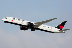 Air Canada Boeing 787-9 Dreamliner C-FRTW (Mark Harris photography) Tags: spotting lax la canon 5d aviation boeing plane