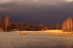 before first storm in 2019 (stempel*) Tags: polska poland polen polonia gambezia pentax k30 stawy borki storm staw pond clouds burza pierwsza
