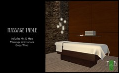 """The-Green-Door---Massage-Table MadPea Premium Alliance """"New Year, New You"""" Hunt (MadPea Productions) Tags: madpea madpeas premium alliance hunt hunts prize prizes decor collaborators decoration furniture excitement games mystery game"""