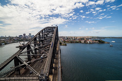 Over the Bridge (Jared Beaney) Tags: canon6d canon australia australian photography photographer travel sydney newsouthwales sydneyharbour sydneyharbourbridge bridge harbour cityscapes cityscape city pylonlookout view views