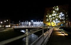 (Fay2603) Tags: nacht night notte lichter beleuchtung weihnachten fluss