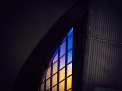 kiasma (miemo) Tags: europe finland abstract architecture art colors em5mkii exterior helsinki kiasma lights luxhelsinki minimalism night olympus olympus60mmf28 omd telephoto window winter uusimaa fi