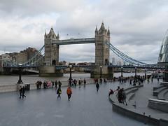 Tower Bridge (jane_sanders) Tags: london towerbridge bridge riverthames river thames morelondon longonbridgecity queenswalk thescoop scoop cityhall thetower hotel guoman stkatharinedocks canarywharf