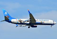 """TC-SNN SunExpress Boeing 737-800  """"Playstation"""" (czerwonyr) Tags: tcsnn sunexpress boeing 737800 playstation frankfurt fra eddf"""