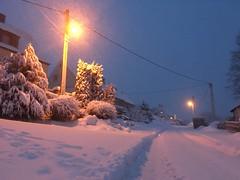 Schneefall 8.1.2019 (weltenforschererzgebirge) Tags: schnee winter erzgebirge annaberg januar