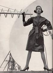 Vogue editorial shot by William Klein 1960 (barbiescanner) Tags: williamklein vintage retro fashion vintagefashion 60s 60sfashions 1960s 1960 1960sfashions vogue vintagevogue editorial