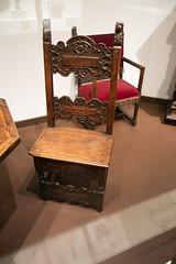 Late renaissance Italian chair (quinet) Tags: 2017 canada musée ontario rom royalontariomuseum toronto museum