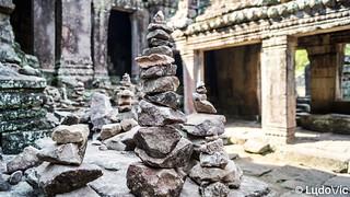 Bayon in Siem Reap