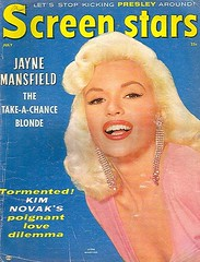 Jayne Mansfield - Screen Stars (poedie1984) Tags: jayne mansfield vera palmer blonde old hollywood bombshell vintage babe pin up actress beautiful model beauty hot girl woman classic sex symbol movie movies star glamour girls icon sexy cute body bomb 50s 60s famous film kino celebrities pink rose filmstar filmster diva superstar amazing wonderful photo picture american love goddess mannequin black white tribute blond sweater cine cinema screen gorgeous legendary iconic magazine covers color colors stars kim novak décolleté lippenstift lipstick oorbellen earrings
