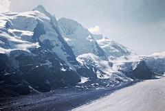 Grossglockner (zeesstof) Tags: geo:lat=4707556680 geo:lon=1275085956 geotagged zeesstofsmom kodachrome film 35mmslidefilm mamiya 1969 summerholiday mountains alps austrianalps triptothegrossglockner snow snowinsummer glacier pasterzeglacier grossglockner 3798m highestmountaininaustria