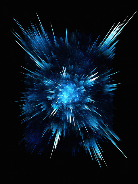 Обои абстракция, синий, линии, взрыв, темный картинки на рабочий стол, фото скачать бесплатно
