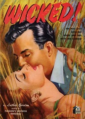 Quarter Books 31 - Luther Gordon - Wicked! (swallace99) Tags: quarterbooks vintage 40s romance digest paperback georgegross