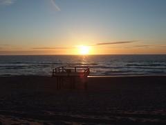 Baywatch (mkorsakov) Tags: sylt westerland insel island strand beach sonnenuntergang sundown horizont horizon sonne sun nordsee northsee