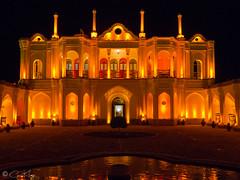 Fath Abad Garden (Penz_3) Tags: fathabadgarden iran kerman historic architecture buildings nightshot