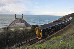 'Approaching Carbis Bay' (SONICA Photography) Tags: gwr train zug tren carbisbay cornwall greatwesternrailway stivesline sterth kernow class150 150261 seaside coast coastalrail england angleterre