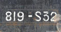 819-S32 (XBXG) Tags: 819s32 32 gers france frankrijk license plate kenteken plaque immatriculation immat