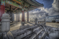 Up At the Bell (Michael F. Nyiri) Tags: koreanfriendshipbell sanpedro california clouds cloudscapes southerncalifornia