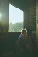 Outdoor (Jukarick.) Tags: canon eos33 35mm fuji young teenagers film c200 morning woods forest emotions september