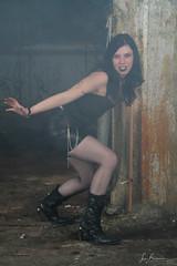 Creepy Shoot (lumafoto - luc bauwens) Tags: creepy gotic factury kortrijk groupshoot pleasure