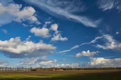 clouds everywhere (Jos Mecklenfeld) Tags: landscape landschaft landschap clouds wolken sonya6000 sonyilce6000 sonyepz1650mm selp1650 westerwolde niederlande nederland windmills windmühlen windmolens terapel groningen netherlands nl