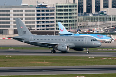 605_20190410_49547_M (Black Labrador13) Tags: 605 airbus a319 a319112 hungary air force bru ebbr avion plane aircraft vliegtuig military