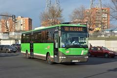 Madrid, Avenida de los Poblados 03.01.2019 (The STB) Tags: crtm consorcioregionaldetransportesdemadrid madrid bus autobus autobús busse publictransport citytransport öpnv transportepúblico
